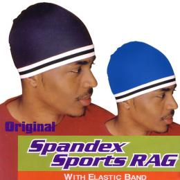 Spandex Sports Rag (BLK x WHITE ライン)